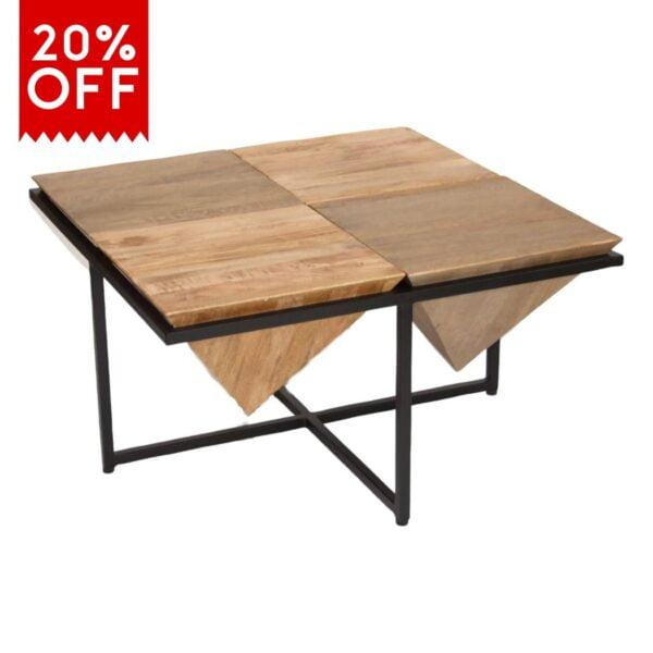 20% off pyramid coffee table viv