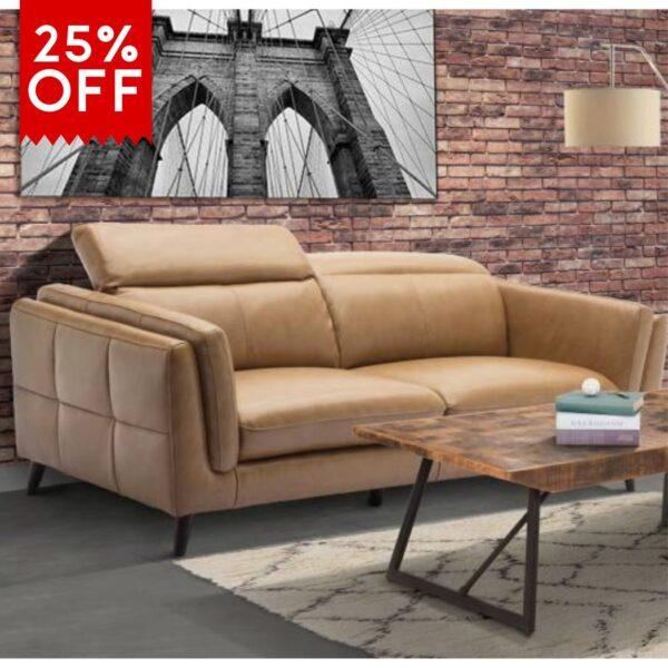 25% off indiana 2 seat sofa vivin
